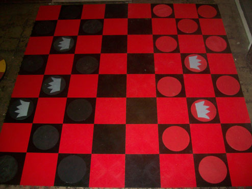 Giant Checkers (8'x8')