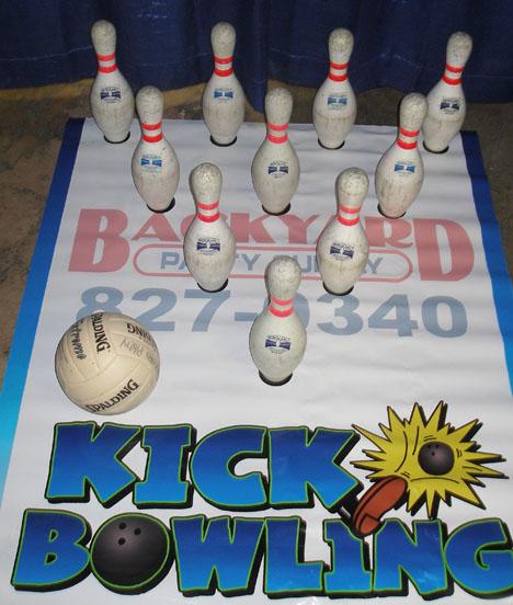Kick Bowling